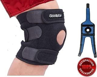 GOODISTAR XL 2XL 3XL XXL XXXL Knee Brace Support for Meniscus Tear Arthritis Sports Injury Recovery Pain Running MCL ACL Plus Size Adjustable Patella Stabilizer Big Large Leg Thigh Women, Men 3 Sizes