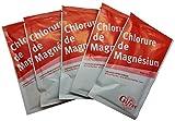 Cloruro de magnesio, 20 g, lote de 5
