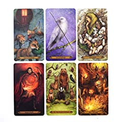 Forest of Enchantment Tarot 78 Cards Deck Game, English Pdf Guidebook, Fortunetelling about Love #4