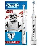Oral-B Junior - Cepillo Eléctrico Recargable con Tecnología de Braun, 1 Mango de Star...