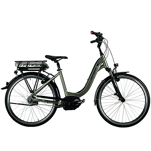 City E-Bike Mittelmotor Bosch Active Rücktritt Pedelec Corratec E-Power Coaster Lady eBike 26Zoll