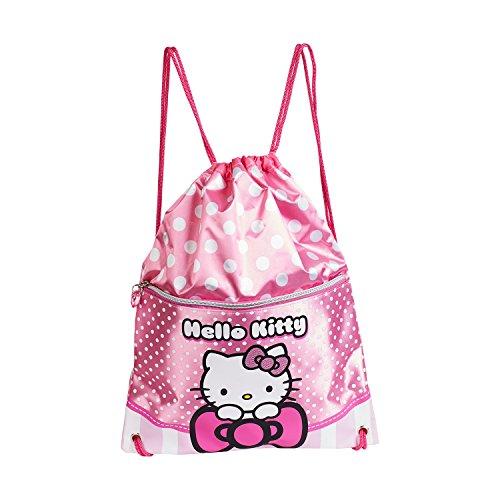Karactermania Hello Kitty Bow Bolsa de Cuerdas para El Gimnasio, 35 cm,...