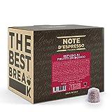 Note d'Espresso Italiano - Cápsulas de tisana de frutas del bosque compatibles con cafeteras Nespresso*, 3g (caja de 100 unidades) Compatible con cafeteras Nespresso*