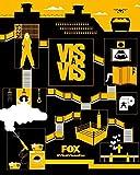 Vis a Vis TV Series - Poster cm. 30 x 40