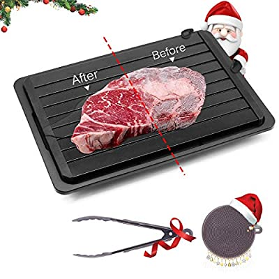 GEMITTO Fast Defrosting Tray, Meat Defrosting P...
