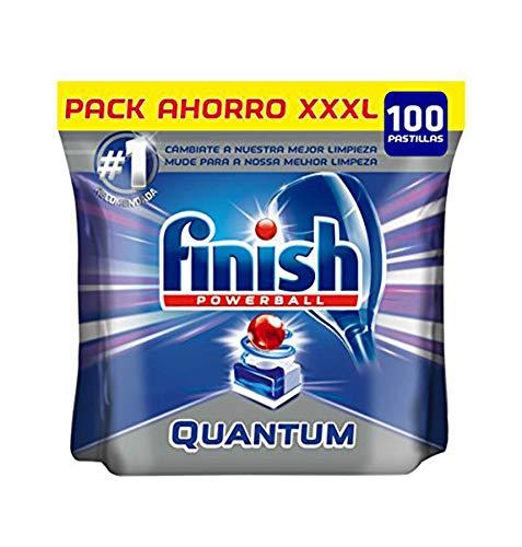 Finish Quantum Regular Detergente para Lavavajillas – 100 Pastillas