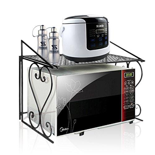 Stabiles Mikrowellen-Regal aus Metall, für die Küchenorganisation