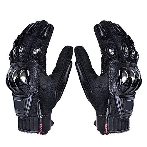 TBBA Motorrad Handschuhe Winter Winddicht Sport Warm Touchscreen Handschuhe Mit Harter Schutzhülle Professionelle für Wandern und andere Outdoor Sportarten und Aktivitäten