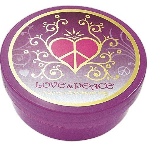 LOVE&PEACE(ラブ&ピース) フレグランス ボディバター
