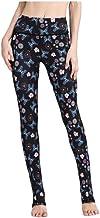 GROSSARTIG Women's Track Pants Yoga Pants Leggings Casual Print Cropped Tight Yoga Pants (Color : 02, Size : L)