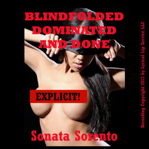Blindfolded, Dominated, and Done by a Stranger audiobook cover art