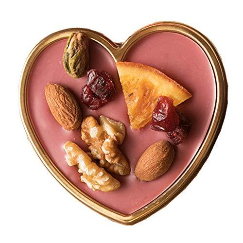 西内花月堂 想いをのせる宝石箱 幸せとショコラ ルビーチョコレート (小) ミニハート型 (20個セット)