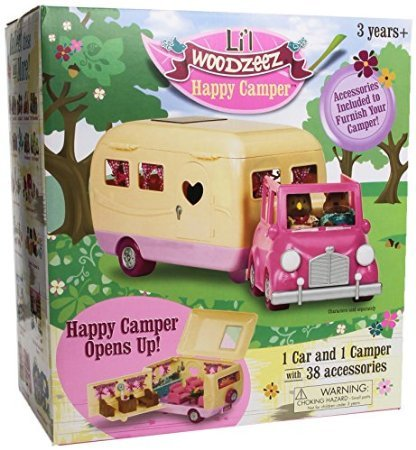 5Star-TD Li'l Woodzeez Happy Camper w/Accessories
