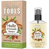 Aceite de Almendras Dulces | 100% Puro, Natural y Prensado en Frío | Cara, Cuerpo, Cabello, Uñas | Aceite de Almendras Dulces | (60ml)