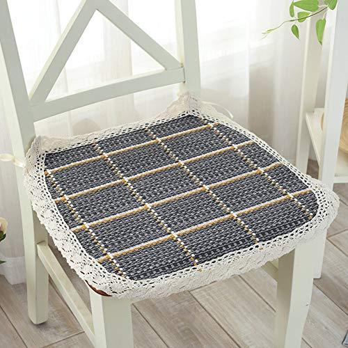 YLCJ Verdikking van winterstoelen, zitkussen, katoen-mesh, voor bureaustoelen, katoen, linnen, stoffering, stoel, 40 x 40 x 5 (16 x 16 inch)