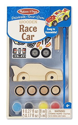 Melissa & Doug Created by Me! Race Car Wooden Craft Kit