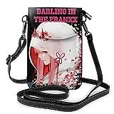 shenguang Bolso de hombro de señora de moda Bolso diagonal Bolso de teléfono portátil Cartera Monedero pequeño para teléfono celular