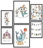 Papierschmiede® Kids Mood-Poster Set Manege Frei | Bilder
