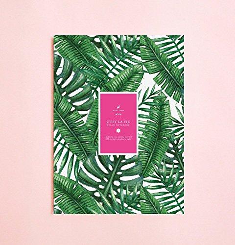 Sommer Palme linierte Notizbuch | Romantik • Schreibtagebuch • Notizbuch für...