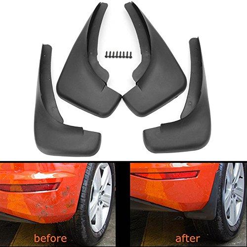 Motopart 4Pcs OE Styled Car Mud Flaps Splash Guards Mud Flap Mudguards for Tata Aria {2010-2014