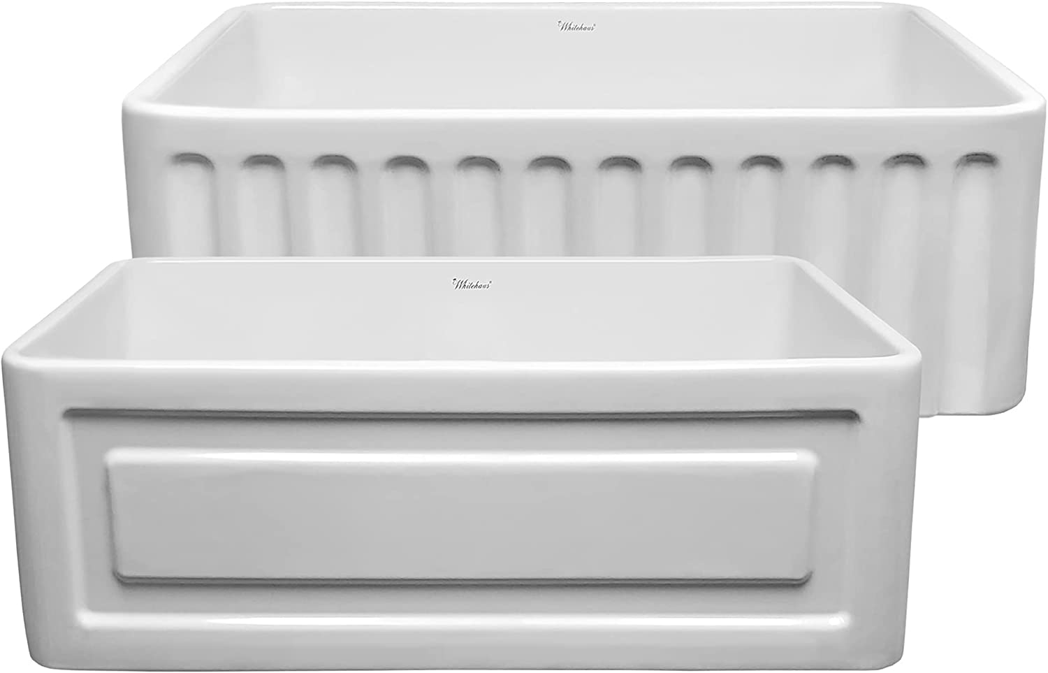 Whitehaus Collection WHFLRPL3018-WHITE Kitchen Firecl Industry No. 1 Reversible Max 54% OFF