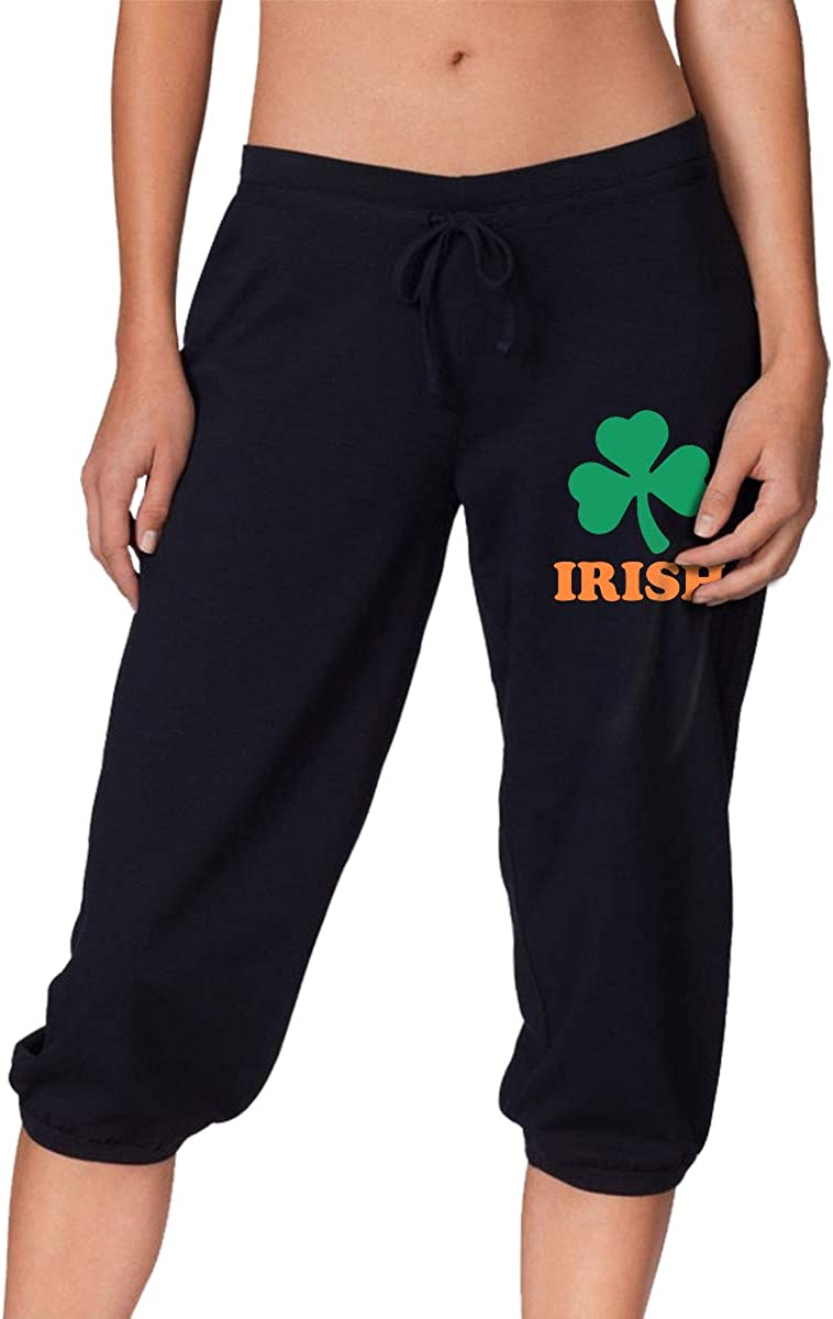MOCSTONE Women's Jogger wholesale Capri Pants Irish Terry Clover Choice Cr French