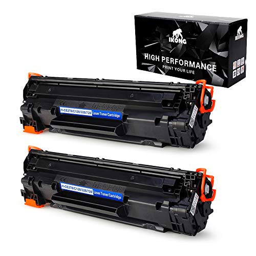 IKONG Compatible Toner Cartridge Replacement for Canon 128 CRG128 C128 Work with Canon ImageClass D530, D550, MF4880DW, MF4770N, MF4890DW, MF4570DW, MF4450, Canon FaxPhone L190 L100