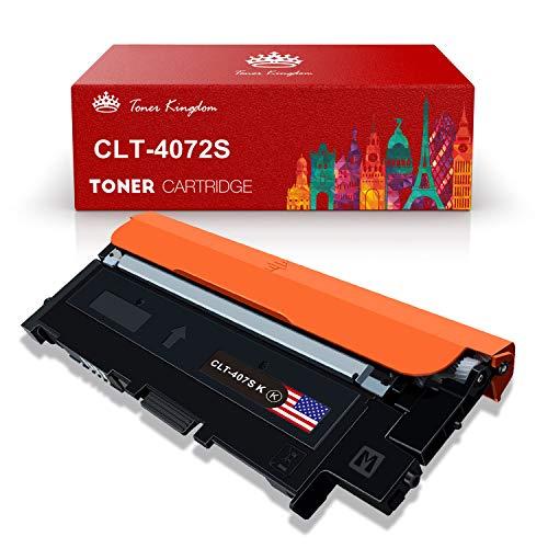 Toner Kingdom Kompatibel Samsung CLT-K4072S CLT-C4072S CLT-M4072S CLT-Y4072S Tonerpatronen für Samsung CLP-320 CLP-320N CLP-320W CLP-320N CLP-325 CLP-325N CLP-325W CLX-3185 Drucker (1Pack)