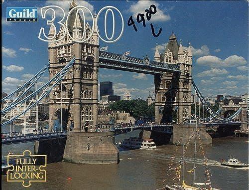 grandes ahorros Guild 300 Piece Puzzle Tower Bridge, London - - - Puzzle Is Dated 1995 by Guild  A la venta con descuento del 70%.