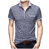 Camisas Casuales para Hombres Originales Hombres tee Homme Slim Fit Hombre de