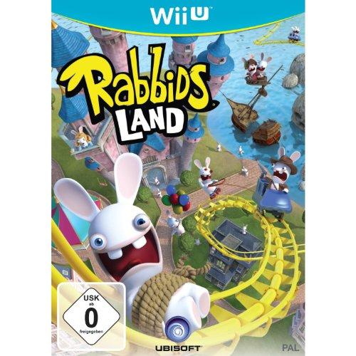 Ubisoft Rabbids Land, Wii U Wii U Alemán vídeo - Juego (Wii U, Wii U, Arcada, E (para todos))