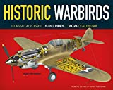Historic Warbirds Wall Calendar 2020