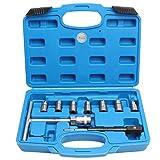 CCLIFE 10 piezas Escariador de asiento de inyectores diesel escariador para asientos de inyectores