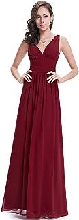Ever-Pretty A-línea Largo Vestido de Fiesta Corte Imperio