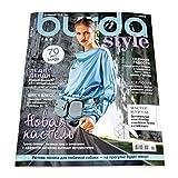 11/2020 Burda Style Magazine Sewing Patterns Templates in Russian Language Fashion Dress Skirt Blouse Pants 34-44 Sizes Plus Size XL 44-52 Kids 116-140 Журнал Бурда на Русском