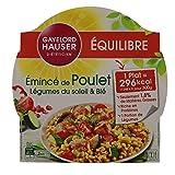 Gayelord Hauser Émincé de Poulet 5 légumes du soleil et Blé - Plat cuisiné diététique - 1 personne - 300 g