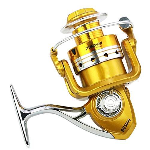 AIWKR Carrete de Pesca,Pesca De Agua Dulce,Reel Tackle Accesorio,para Pesca Agua Salada De Agua Dulce