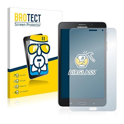 BROTECT Panzerglas Schutzfolie kompatibel mit Samsung Galaxy Tab 4 (7.0) LTE SM-T235 - AirGlass, 9H Härte, Anti-Fingerprint, HD-Clear