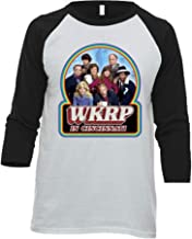WKRP in Cincinnati 80's Funny Retro Tv Show Baseball Raglan T Shirt