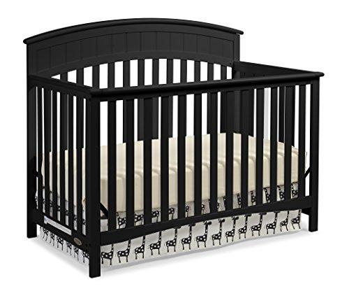 Graco Charleston 4-in-1 Convertible Crib Black