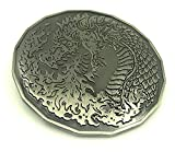 Adult Fire Dragon (3 in) Monster Coin Token Dungeons and Dragons D&D Metal Coins Treasure Coin Table Coins Treasure Coins Fire and Smoke Dragon Roleplaying Game Tokens DND 5e