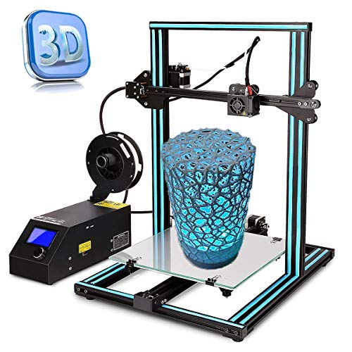 3D-Drucker AA+inks A10S 3D-Drucker Büro Basteln Filament Hohe Präzision für 3D-Drucker ABS/PLA, 1,75 mm, Druckgröße: 300 x 300 x 400 mm.
