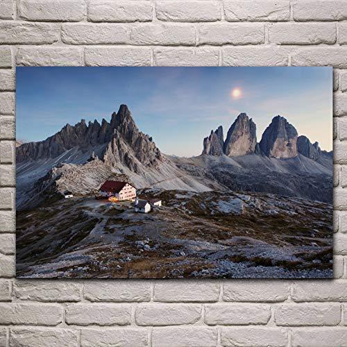 Niños Puzzle 1000 Piezas Alpes Dolomitas, Italia De Madera Puzzle Juego Clásico Puzzle Ocio Arte Toys Puzzles 50x75cm