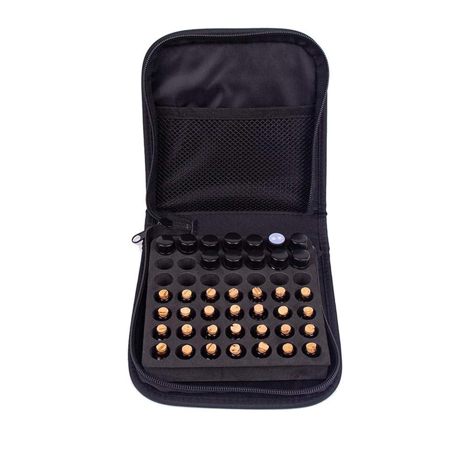 国リーチ軽くNewfashion エッセンシャルオイル収納ボックス 精油収納 アロマケース 大容量 携帯便利 オイルボックス 飾り物 49本用