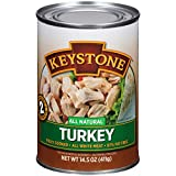 Keystone Meats All Natural Canned Turkey, 14.5 Ounce