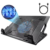 Laptop Stand Adjustable Laptop Cooling Pad Computer Gaming Fan Stand Holder with Portable