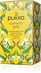 Good news for bringing a golden glow to your day Made with organic turmeric, lemon fruit, cardamom and whole leaf green tea An elegance that will leave you feeling renewed Ethically sourced, 100% organically grown ingredients Bring these incredible h...