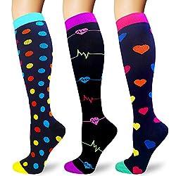 Underwear & Sleepwears 3 Colors Compression Socks For Men Leg Slimming Socks Elastic Stockings Anti-fatigue Boost Blood Circulation Wide Varieties