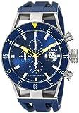 Locman Italien Herren 051200byblnksib Montecristo Profi Taucher Chronograph Analog Display Automatische selbst Wind blau Armbanduhr
