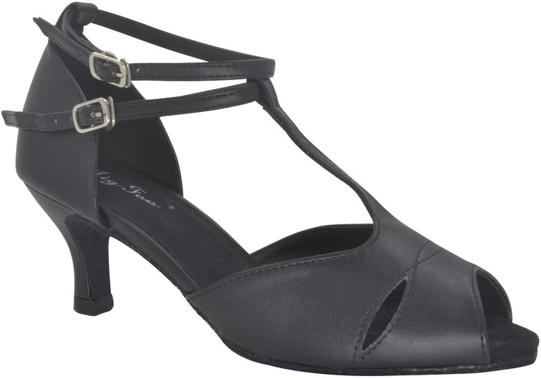 Latin Dance Schuhe für Erwachsene Modern Square Dance Tanzschuh weiche Unterseite high Heel Tanzschuhe  | Rich-pünktliche Lieferung